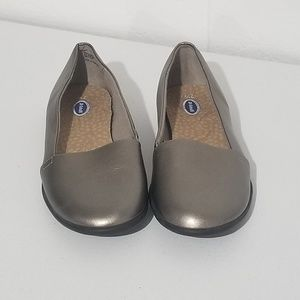 Dr Scholl's Metalic Slip on Loafer Shoes